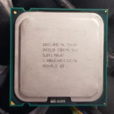 Procesor Intel Core 2 Duo E8400 6M 3.00 GHz, 1333 MHz - poze reale