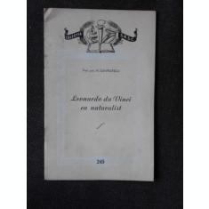 LEONARDO DA VINCI CA NATURALIST - N. GAVRILESCU