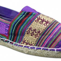 Espadrile Colors Vintage - Multicolor Mov