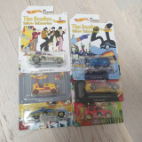 Set 6 masinute hot wheels The Beatles, 1:64