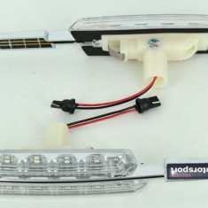 Lampi laterale LED semnalizare transparente compatibile BMW. COD: ART-7133 ManiaCars