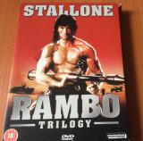 RAMBO Trilogy Series -  Film DVD Original 3 DISC