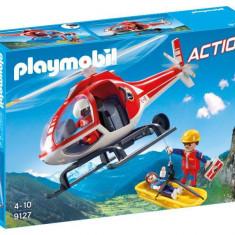 Salvatori montani cu elicopter - Playmobil