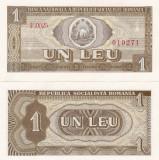 Romania 1 Leu 1966 UNC