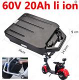 Cumpara ieftin Baterie detasabila scuter electric 60 V, 20 A Litiu-Ion (City Coco), China
