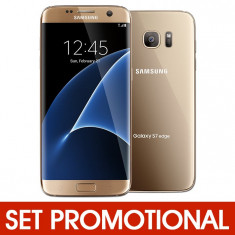 Set SAMSUNG Galaxy S7 (G930) - Folie de Protectie + Husa Silicon (Transparenta)