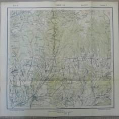 Targul Jiu// harta Serviciul Geografic Armatei 1916