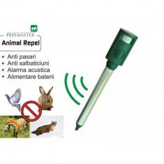 Dispozitiv cu senzor de miscare si alarma acustica anti animale, pasari si salbaticiuni Animal Repel AN-B011, Pestmaster, 006