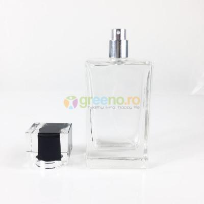 Sticla Parfum 100ml, Capac, Pulverizator Infiletabil foto