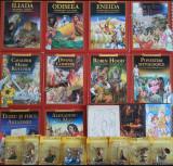 Colecția Miturile și Legendele Lumii 11 cărți + 8 figurine Mitology + BONUS, Homer