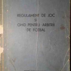 REGULAMENT DE JOC SI GHID PENTRU ARBITRII DE FOTBAL - FIFA