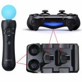 Dock incarcare controller PS4 si PS4Move, negru