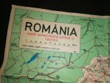 Cumpara ieftin HARTA -ROMANIA HARTA ADMINISTRATIVA , RUTIERA SI TURISTICA -60 X 90 CM
