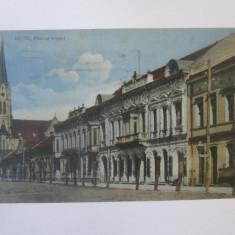 Rara! Carte postala circulata 1924 Deta/Timiș(Banat) cu stampila rara:Șef Judec.