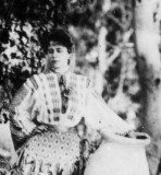 Fotografii epoca REGINA MARIA A Romaniei (Principesa) pe Agfa Lupex  UNI-FOTO