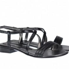 Sandale dama din piele naturala cu platforma joasa - S8N