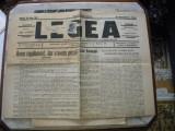 "Ziarul ""Legea "" 1936"
