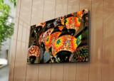 Tablou decorativ pe panza Horizon, 237HRZ5314, Multicolor