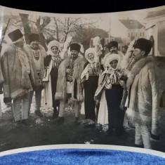 FOTOGRAFIE ORIGINALA - TARANI DIN REGIUNEA SIBIU , TRANSILVANIA