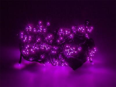 Instalatie Craciun pentru brad, lungime 16m, 200 becuri, Violet foto