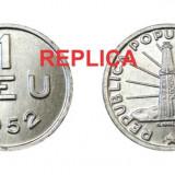 Set Replici 1 leu + 2 lei 1952 - FALS