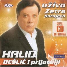 2 CD Halid Bešlić – Uživo - Zetra Sarajevo, originale