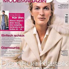 Burda revista moda croitorie insert in limba romana 50 tipare 10/2005