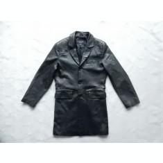Palton piele naturala Mood by Derimod. Marime S, vezi dimensiuni exacte;  ca nou