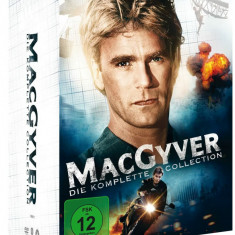 FILM SERIAL MacGyver The Complete Series [39 DVD] Box Set Sigilat