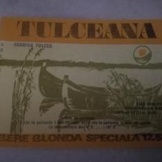 Eticheta bere Romania - TULCEANA  !