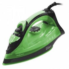 Fier de calcat talpa ceramica ZILAN ZLN-2188V, Verde, Putere 2200W, calcare cu aburi si uscata, functie autocuratare, Verde - ZLN2188V