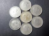 Cumpara ieftin LOT 7 MONEDE 1957 SPANIA 25 PESETAS-FRANCO- EMISE IN 1959/64/65/67/68/69/75 (35)