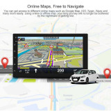 CAR ANDROID PLAYER,7 INCHI,GOOGLE PLAY,GPS Navigation Bluetooth WiFi 2DIN
