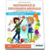 Matematica si explorarea mediului, Manual pentru clasa I, Semestrul II. Contine CD - Anita Dulman