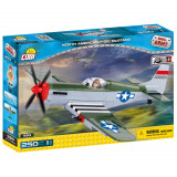 Cumpara ieftin Set de construit Cobi, Aircrafts WW II, North American P-51C Mustang (250 pcs)