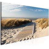 Tablou canvas - Vacanta la litoral - 100 x 45 cm, Artgeist