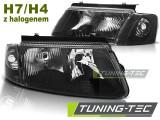 Faruri compatibile cu VW PASSAT B5 3B 11.96-08.00 Negru HALOGEN