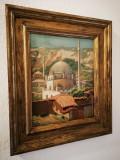 Tablou autentic Constantin Artachino, Peisaje, Ulei, Impresionism