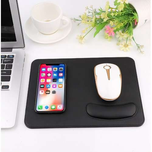 Incarcator Wireless Google Pixel 3 Tip Mouse Pad 2-in 1 Negru