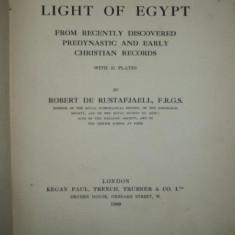 THE LIGHT OF EGYPT , ROBERT DE RUSTAFJAELL, LONDON , 1909