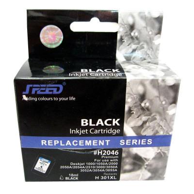 Cartus cerneala compatibil cu HP 301 XL black,CH563EE foto