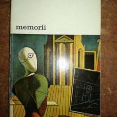 Memorii- Giorgia de Chirico