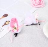 Urechi de pisica neko chan cosplay costumatie, Marime universala, Alb