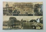 Carte poștală - Dresden, Germania (mozaic) - anul 1972 (circulată)