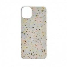 Husa Marble Impact pentru Samsung Galaxy S10e, TPU+Acryl, Model Snow
