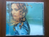 Madonna ray of light 1998 cd disc muzica pop maverick warner bros texte foto