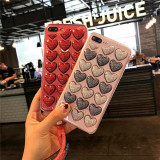 Iubire TridimensionalaHusa Telefon Pentru iPhone6/6s/6Splus/6Plus/7/7Plus/8/8Plus/X