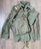 Uniforma militara kaki Trupele de Geniu Sergent Militar în termen RSR