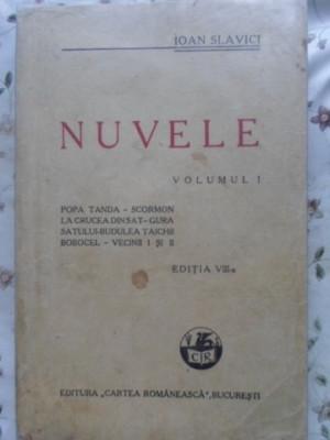 NUVELE VOL.1 EDITIA VIII-A - IOAN SLAVICI foto