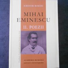 MIHAI EMINESCU - POEZII volumul 2 (2010)